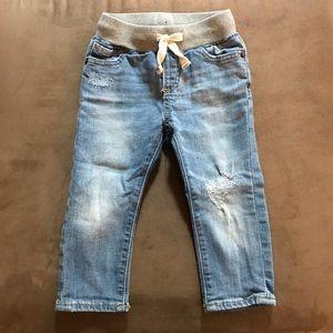 BabyGap light wash jeans, size 18-24 months